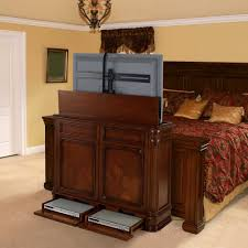 tv lift cabinet foot of bed storage cabinets ideas tv lift cabinet antique popular tv lift