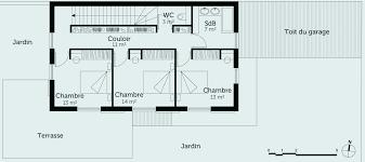 plan maison simple 3 chambres plan maison simple plan de maison simple 3 chambres 10 index