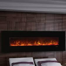 wall electric fireplace touchstone onyx 80001 50 della 1500w