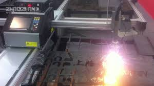 portable cnc cutting machine from zhaozhan youtube