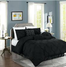 Black And White Comforter Set King Black And White Duvet Covers Silver Bedding Black Comforter Sets
