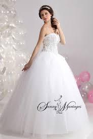 mariage chetre tenue robe de mariage blanche forme princesse pas chere mariage