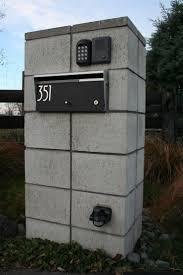 10 best modern mailbox images on pinterest modern mailbox post