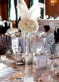 great gatsby party decorations cool centerpiece idea great