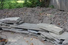 Building Flagstone Patio Build Flagstone Garden Edging Merrypad