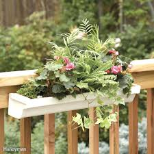 patio ideas viva self watering balcony railing planter porch
