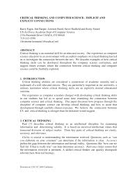 how to write a literary criticism paper critical thinking and computer science implicit and explicit critical thinking and computer science implicit and explicit connections pdf download available