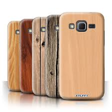 Htc Wildfire Cases Ebay by Stuff4 Back Case Cover For Samsung Galaxy Core Prime Wood Grain