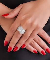 diamond cocktail rings cocktail baguette diamond ring carat crush