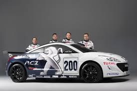 peugeot rcz tuning peugeot rcz headed for nurburgring 24 hour race autoevolution