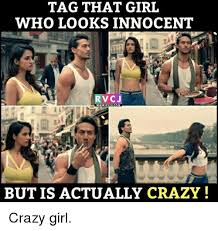 Crazy Meme Girl - tag that girl who looks innocent rvcj wwwrvcjcom but is actually