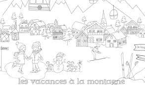 Un coloriage pour les vacances  Babayaga Magazine