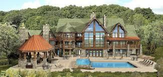 luxury log cabin plans luxury log cabin floor plans log home plans kensington lodge log