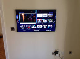 wall mounted tv hiding cables skyprobe co uk tv installation