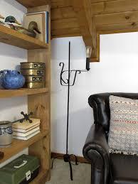 Wrought Iron Floor Lamps Hood Creek Log Cabin Wrought Iron Floor Lamp Makeover