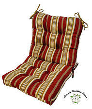 Patio Chair Pads by Polyester Patio Chair Seat Pads Furniture Cushions Ebay