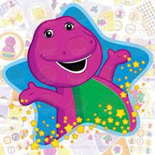 Diy Barney Decorations Barney Birthday Party Package Diy Custom 17 00 Via Etsy