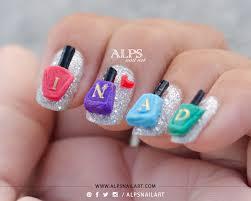 tutorial nail art one direction nail polish charm tutorial by alpsnailart alps nail art