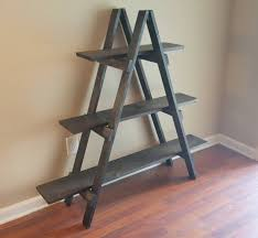 ladder shelf 4 ft wooden ladder craft fair display craft