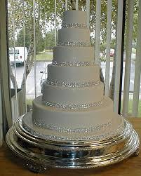 rhinestone cake stand rhinestone tiered wedding cake