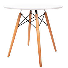 eames inspired dining table buy replica eames dsw eiffel dining table white online at avancer
