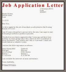 business letter sample job application example vacancies fix yes