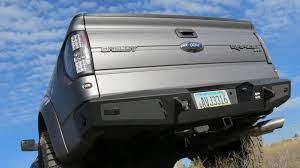 Ford F 150 Truck Body Parts - f150 series honeybadger rear bumper w tow hooks off road bumpers