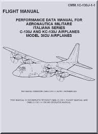 Lockheed C 130 J Kc 10j Aircraft Perfomance Fight Manual Cmm 1c