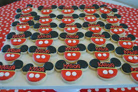 mickey mouse birthday party mickey mouse birthday party brookies cookies