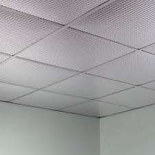 ceiling tiles fasade ceiling tile 2x2 suspended square in brushed aluminum