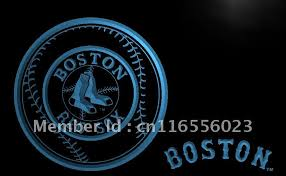 Boston Red Sox Home Decor Online Get Cheap Boston Neon Signs Aliexpress Com Alibaba Group