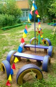 How To Use Old Tires For Decorating 20 Garden Decorations And Kids Toys Made With Recycled Tires