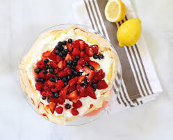 in the kitchen summer pavlova lily u0026 val living