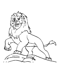 printable 17 roaring lion coloring pages 7530 free printable