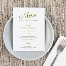 13 best wedding menus images on pinterest wedding menu template