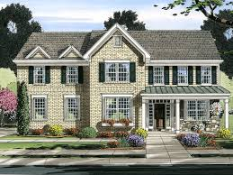 traditional colonial house plans alston traditional home plan 065d 0371 house plans and more