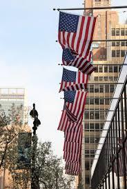 Big American Flags Free Images Architecture Skyscraper Manhattan New York City