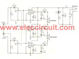 1ch amplifier circuit diagram wiring diagram components
