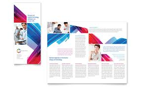 software solutions tri fold brochure template word u0026 publisher