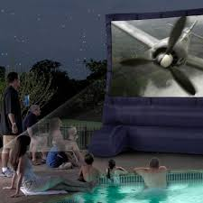 inflatable home theater system 12 ft inflatable diagonal widescreen airblown deluxe movie screen