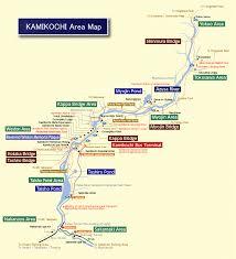Alps Mountains Map Trekking From Kamikochi U2013 Japan Alps Kamikochi Official Website