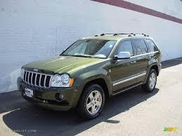 light green jeep cherokee 2006 jeep green metallic jeep grand cherokee overland 4x4 17969585