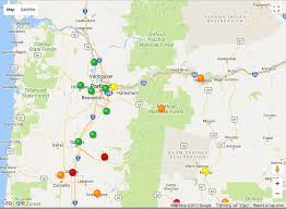 map of oregon smoke smoke sept 3 health notice river news
