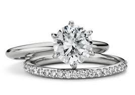 engagement ring and wedding band engagement rings and wedding bands platinum wedding rings from