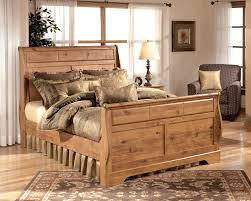 bittersweet queen sleigh bed by ashley home gallery stores