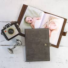 refillable photo albums small photo albums with refillable leather cover by blue sky papers