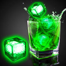 light up cubes blank liquid activated light up cubes variety of colors bar