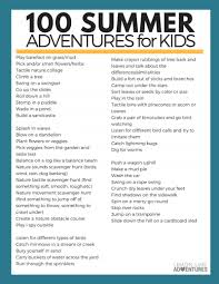 kick boredom to the curb with 100 free summer adventures for kids