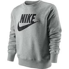 nike pullover sweater sweater nike pullover grey vintage wheretoget