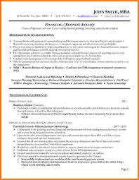 11 financial analyst resume example financial statement form
